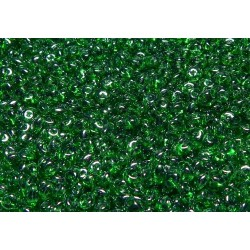 12 Grams Chrysolite White Luster Super Duo Beads