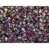 12 Grams Crystal Magic Violet Grey Super Duo Beads