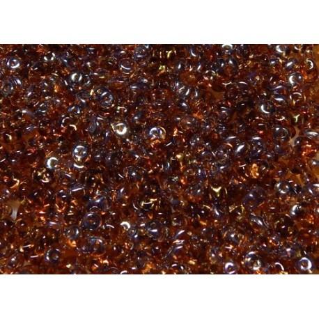 12 Grams Topaz Celsian Super Duo Beads