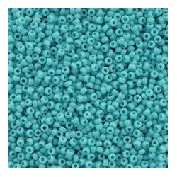 10 Grams 15-412 Miyuki Op Turquoise Green Seed Beads