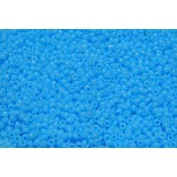 10 Grams 15-413 Miyuki Op Turquoise Blue Seed Beads