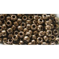 10 Grams 15-457L Miyuki Met. Lt. Bronze Seed Beads
