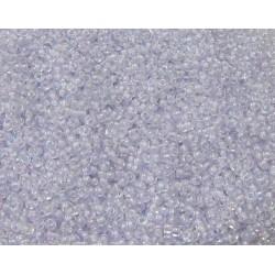 50 Grams 11-2211 Miyuki Pale Violet Lined Crystal AB Seed Beads