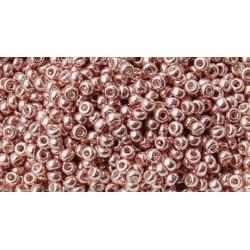 25 Grams 11-1086 Miyuki Galv. Blush Seed Beads