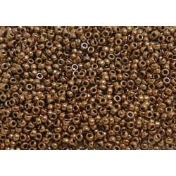 25 Grams 11-457L Miyuki Metallic Lt. Bronze Seed Beads