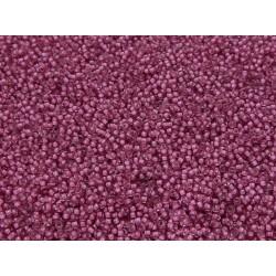 50 Grams 11-1931 Miyuki SF Lt. Raspberry Lined Crystal Size 11 Seed Beads