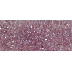 100 Pack 3mm Lavender Czech Fire Polished Crystals