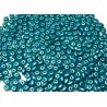 12 Grams Pastel Emerald (Teal) Super Duo Beads