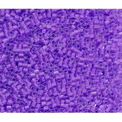12 Grams 1.8 mm Miyuki SB18-222 Orchid Lined Crystal Cube Beads