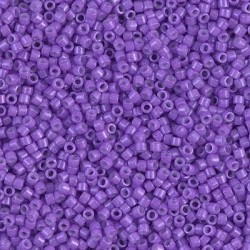 10 Grams DB1379 Miyuki Dyed Op Red Violet Size 11 Delica Beads