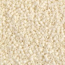 10 Grams DB352 Miyuki Matte OP Cream Size 11 Delica Beads