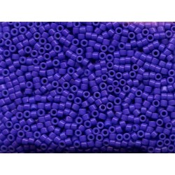 10 Grams DB661 Miyuki Dyed OP Bright Purple Size 11 Delica Beads