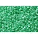 12 Grams Pastel Lt. Green Chrysolite Super Duo Beads