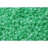 12 Grams Pastel Lt. Green Chrysolite Super Duo Beads