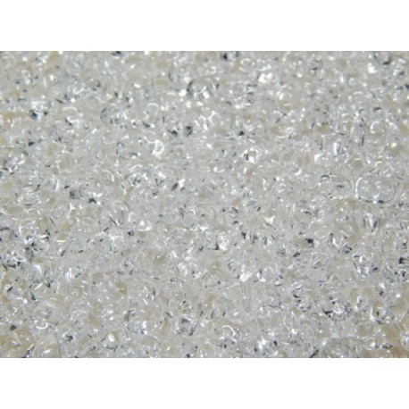 12 Grams Crystal Super Duo Beads