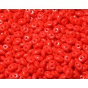 12 Grams Op. Coral Red Super Duo Beads