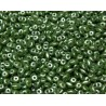 12 Grams Pastel Olivine Super Duo Beads