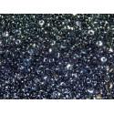 12 Grams Jet Hematite Super Duo Beads