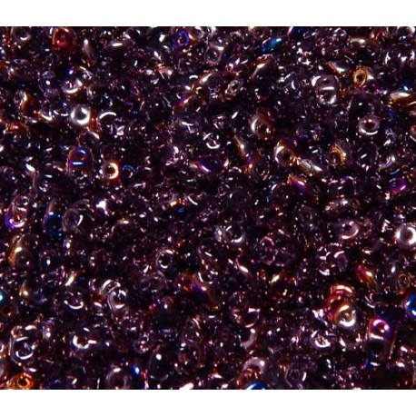 12 Grams Tanzanite Sliperit Super Duo Beads