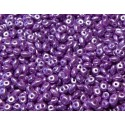 12 Grams Pastel Lilac Super Duo Beads