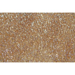 10 Grams 15-2439 Miyuki Lt. Smoky Topaz Gold Luster Seed Beads