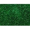 10 Grams 15-16 Miyuki Silver Lined Green Seed Beads