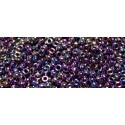 10 Grams 15-454 Miyuki Met. Dk. Plum Iris Seed Beads