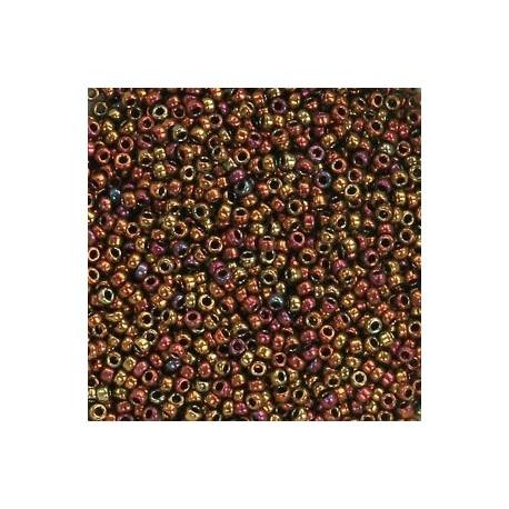 10 Grams 15-462 Miyuki Met. Gold Iris Seed Beads