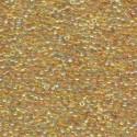 10 Grams 15-251 Miyuki Tr Lt. Topaz AB Seed Beads