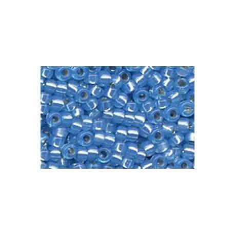 10 Grams 15-573 Miyuki Dyed Aqua S/L Alabaster Seed Beads