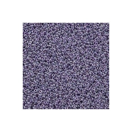10 Grams 15-525 Miyuki Purple Ceylon Seed Beads