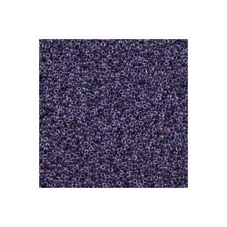 10 Grams 15-223 Miyuki Grape Lined Crystal Seed Beads