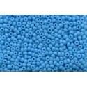 50 Grams 11-413 Miyuki Op. Turquoise Blue Seed Beads