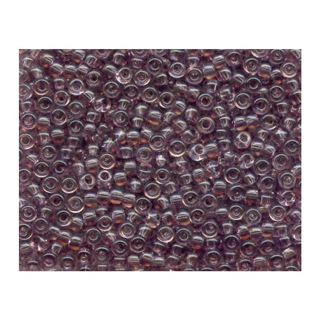 50 Grams 11-412 Miyuki Tr Smoky Amethyst Seed Beads