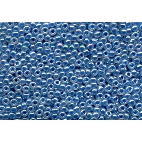 50 Grams 11-545 Miyuki Dark Sky Blue Ceylon Seed Beads