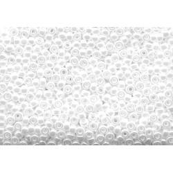 50 Grams 11-528 Miyuki White Pearl Ceylon Seed Beads