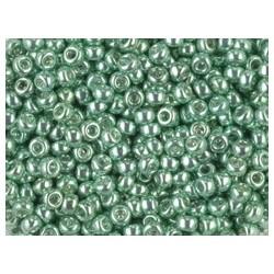 25 Grams 11-1074 Miyuki Galv. Sea Green Seed Beads