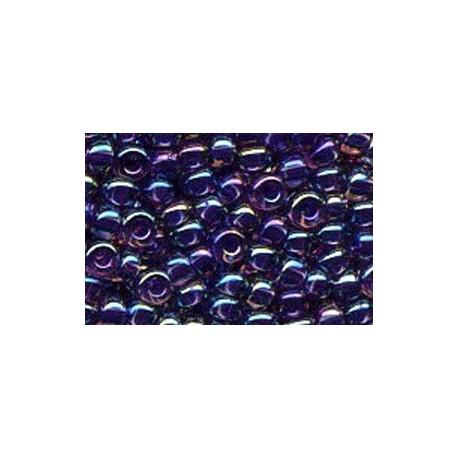 50 Grams 11-356 Miyuki Purple Lined Amethyst AB Seed Beads