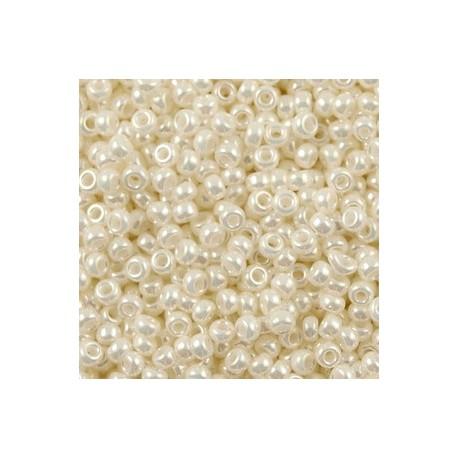 50 Grams 11-591 Miyuki Ivory Pearl Ceylon Seed Beads