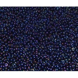 25 Grams 11-452 Miyuki Met. Dark Blue Iris Seed Beads