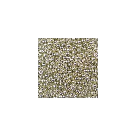 25 Grams 11-1051 Miyuki Galv. Silver Size 11 Seed Beads