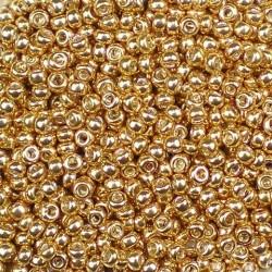 25 Grams 11-1052 Miyuki Galv. Gold Size 11 Seed Beads