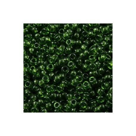 50 Grams 11-158 Miyuki Tr Olive Size 11 Seed Beads