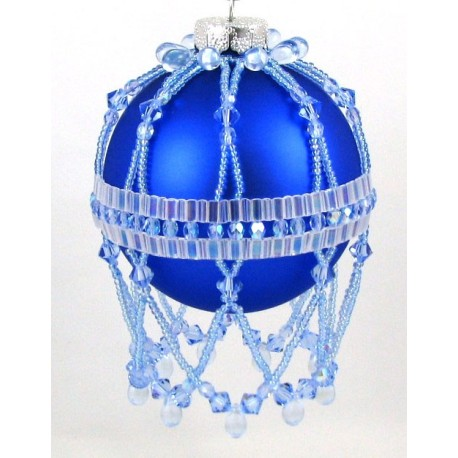 Winter Frost Tila Ornament Cover Pattern