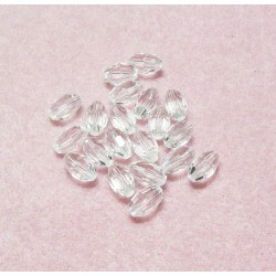 9x6 Clear Celestial Crystal Ovals Qty 20