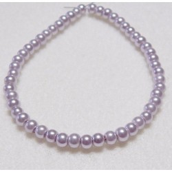 4mm Lavender Pearls 50 Pack