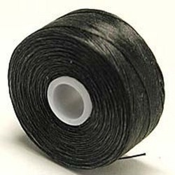 C-Lon D Black Beading Thread