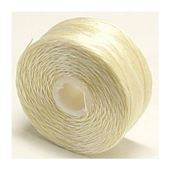 C-Lon D Cream Beading Thread