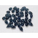 6x9 mm Montana Blue Fringe Drops Qty 40 each