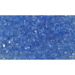 100 Pack 3mm Sapphire Czech Fire Polished Crystals
